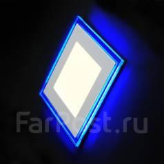 Светильники светодиодные встраиваемые.