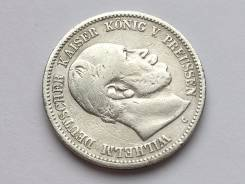 2 марки. Германия / Пруссия. 1876 C (Франкфурт). Серебро