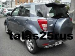 Сполер Toyota Rush, Daihatsu Be-Go ( Дополнительный стоп ) Серебро. Toyota Rush Daihatsu Be-Go