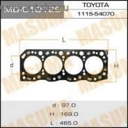 Прокладка головки блока цилиндров. Toyota Dyna Toyota Hiace Toyota Hilux Двигатели: 5L, 3L