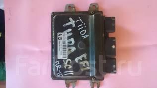 Блок управления двс. Nissan Tiida Latio, SC11 Двигатель HR15DE