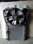 Вентилятор охлаждения радиатора. Honda Airwave, GJ1 Двигатель L15A