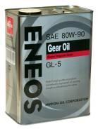 Eneos. Вязкость 80W-90