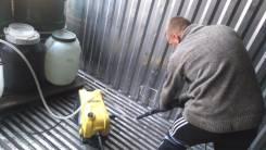 Мойка контейнеров от пищевых и др. отходов. Клининг. Химчистка.