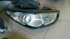 Фара R Hyundai IX35 б/у электро. черная