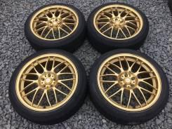 Легендарная Лёгкая Золотая ковка Rays Volk Racing SE37 R18 5*100+Лето!. 7.5x18 5x100.00 ET48 ЦО 63,0мм.