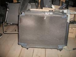 Радиатор охлаждения двигателя. Toyota Yaris, SCP90 Toyota Vitz, SCP90