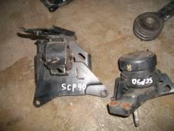 Подушка двигателя. Toyota Yaris, SCP90 Toyota Vitz, SCP90