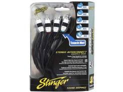 Межблочный кабель Stinger SI8417 4RCA-4RCA 5м