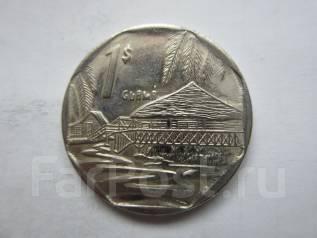 Куба 1 песо 2007 года.