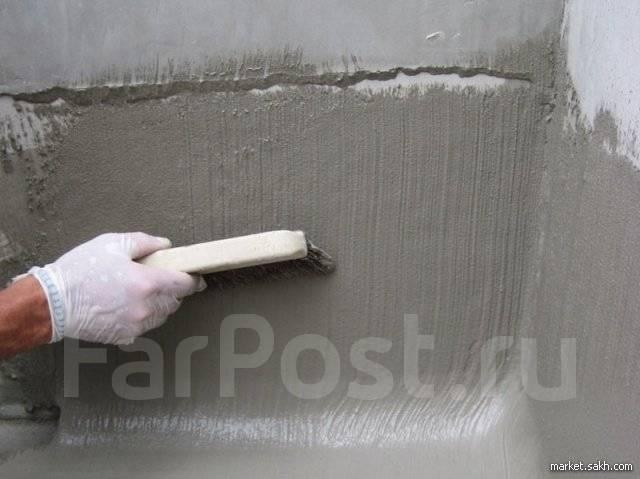 Обмазочная гидроизоляция цементная стяжка и гидроизоляция полов