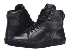 Брендовые Кожаные Кроссовки Кеды Versace Collection Clean Leather High. 41