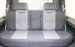 Чехлы TRANSFORM задний ряд диван 3 подголовника карман под подголовник велюр под замшу MPV-004