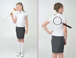 Блузки школьные. Рост: 134-140, 140-146, 146-152 см
