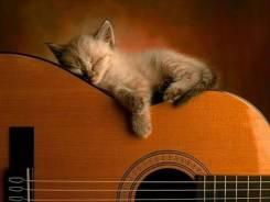 Уроки вокала, обучение игре на гитаре