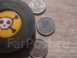 10 рублей 1993 года ЛМД и ММД немагнитная Редкая