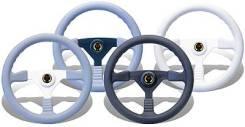 """Рулевое колесо """"Sunbird"""", черные спицы/серый обод."""