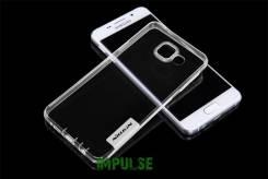 Силикновый чехол-накладка для Samsung Galaxy A3 2016 Nillkin Tpu Case Прозрачный