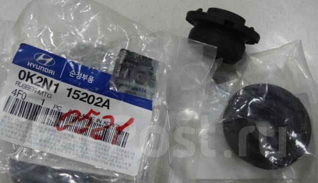 Подушка радиатора KIA / J3 / BONGO ( нижняя ) 0K2N115202 / 0K2N115202A / MOBIS