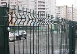 Секционное ограждение. Заборы из профлиста. Откатные и распашные ворот