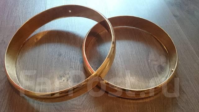 Как сделать свадебные кольца на машину 91