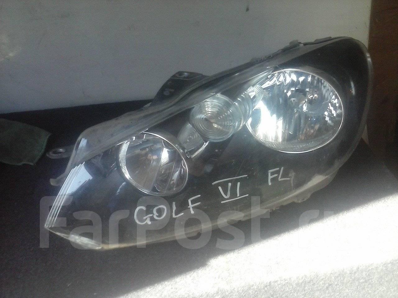 фара гольф 6 плюс биксинон адаптивная правая