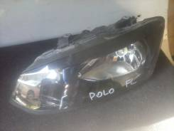 Фара. Volkswagen Polo, 6R1 Двигатели: BAD, CFWA, BZG, CMAA, AES, CAYA, CDLJ, CBZB, CAYC, AZQ, BMD, BBY, CAVE, AXU, CGPA, CTHE, AUA, BBM, BKY, CHFA, CL...