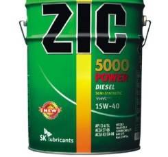 ZIC 5000 Power. Вязкость 15W-40 Под заказ в течении 1 дня, полусинтетическое