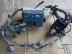 Блок предохранителей. Toyota Vitz, SCP10 Двигатель 1SZFE