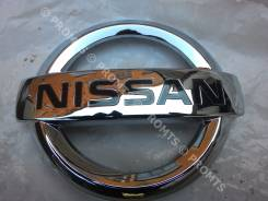 Эмблема решетки. Nissan Dualis, KNJ10, KJ10, NJ10, J10 Nissan Qashqai, J10 Nissan Qashqai+2 Двигатели: MR20DE, HR16DE, M9R, K9K, R9M