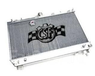 Радиатор охлаждения двигателя. Mitsubishi Lancer Evolution, CT9A, CT9W Двигатель 4G63