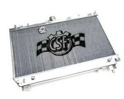 Радиатор охлаждения двигателя. Mitsubishi Lancer Evolution, CZ4A Двигатель 4B11