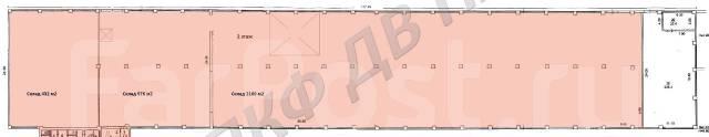 Здание под склад 7000м2, возможно выделение любой площади!. 7 000 кв.м., улица Командорская 11 стр. 8, р-н Фадеева. План помещения
