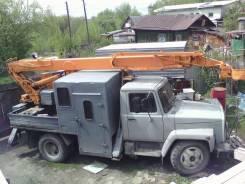 ГАЗ 3307. Автовышка 17 метров (телескопическая), 4 250 куб. см., 17 м.