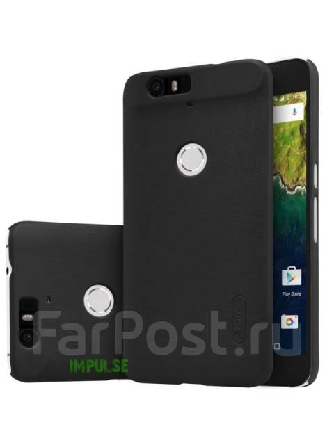 Чехол-накладка для Huawei Nexus 6P Nillkin Super Frosted Shield Черный