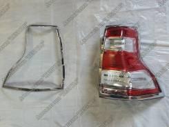 Накладка на стоп-сигнал. Toyota Land Cruiser Prado, GDJ150L, GRJ151, GDJ150W, GRJ150, GDJ151W, GRJ150L, TRJ150, KDJ150L, GRJ150W, GRJ151W, TRJ150W