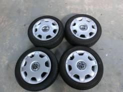 Продается комплект штампованных дисков с колпаками VW R14 #1340. 6.0x14, 4x100.00, ET43