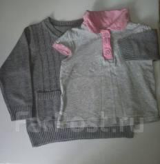 Детский свитер + футболка. Рост: 74-80 см