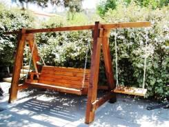 Изготовим мебель для сада, элементы декора: арки заборчики качели и др