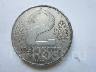 Германия (ГДР) 2 марки 1957 года.