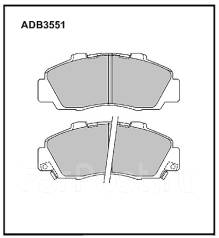 Колодка тормозная дисковая. Honda: Rafaga, Accord, Ascot, Inspire, Civic, Vigor, Shuttle, Accord Aerodeck, Prelude, HR-V, CR-V, Avancier, Odyssey, Leg...