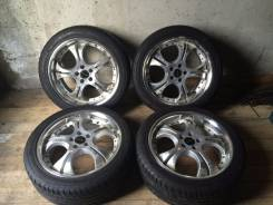 Продам колеса Stich Precious+Лето ЖИР 215/45R17. 7.0x17 5x100.00 ET48 ЦО 72,0мм.