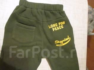 Тёплые штаны. Рост: 86-98 см