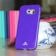 Силиконовый чехол Mercury Goospery для Samsung Galaxy S6 Синий