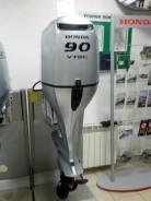 Honda. 90,00л.с., 4х тактный, бензин, нога L (508 мм)