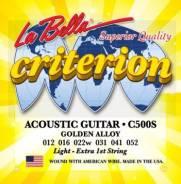 La Bella C500S Criterion Струны для акустич. гитары