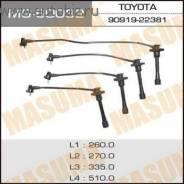 Высоковольтные провода. Toyota Carina, AT211 Toyota Corona, AT211, AT210 Toyota Caldina, AT211, AT191 Двигатели: 7AFE, 4AFE