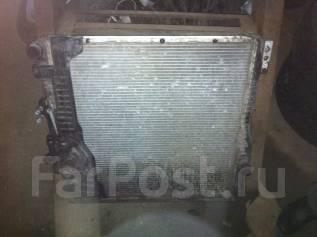 Радиатор охлаждения двигателя. BMW X5, E53. Под заказ