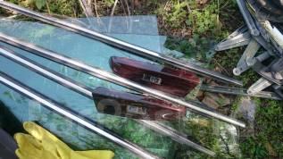 Накладка на ручки дверей. Toyota Mark X, GRX133, GRX130, GRX135
