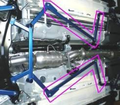 Консоль центральная. Mitsubishi Lancer Evolution